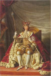 Portret van Christian VII (1749-1808)