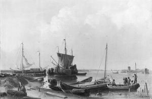 Vissers op de Zuiderzee