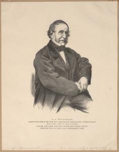 Portret van Gerardus Frederik Westerman (1807-1890)