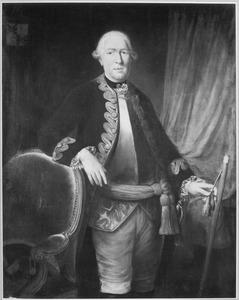 Portret van François Cornelis van Aerssen (1725-1793)