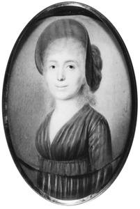 Portret van Madelon Sophie Elisabeth Berg (1757-1842)