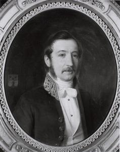 Portret van Gustaaf Eugenius Gijsbert Constant Karel Dommer van Poldersveldt (1817-1862)