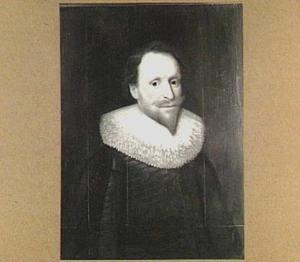 Portret van een man, mogelijk mr. Gerrit Meerman (1593-1638), echtgenoot van Maria de Bye