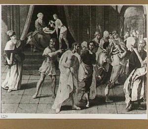 Christus door Pilatus veroordeeld en ter kruisiging weggevoerd (Johannes 19: 4-16)