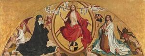 Het laatste Oordeel met Maria en Johannes de Doper