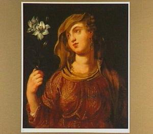 Portret van Eusebia (?-360), vrouw van keizer Constantius
