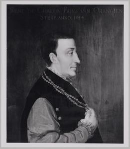 Portret van René van Châlon (1519-1544)