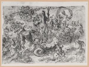 De triomf van Neptunus en Galatea