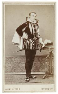 Portret van Herman Arnold Ameshoff (1860-1905) als Heer van Westrum