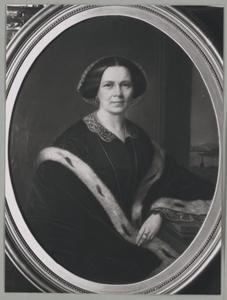 Portret van Adriana Jacqueline de Kock (1809-1882)