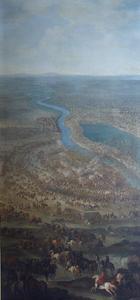 De slag bij Zenta, 11 september 1697: prins Eugenius van Savoie verslaat de Osmaanse troepen, terwijl deze de rivier de Tisa oversteken