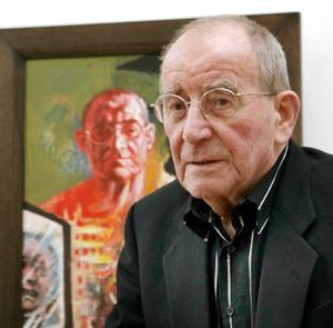 Portret van Willi Sitte (1921-2013)