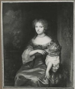 Portret van Johanna Hulft (1649-1699)