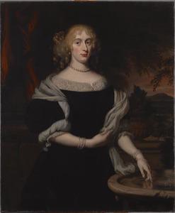 Portret van een vrouw, waarschijnlijk Anna Maria Trip (1652-1681)