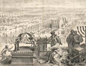 Mozes en de ark van het verbond