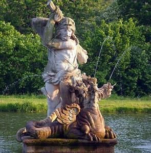 Hercules in gevecht met Hydra
