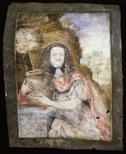Portret van een persoon genaamd Blom