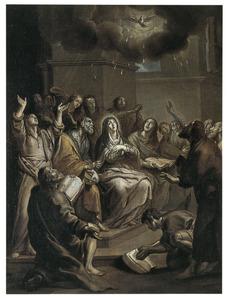 Het pinksterwonder: de nederdaling van de H. Geest