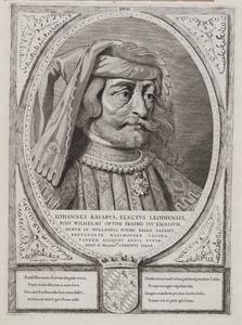 Portret van Jan van Beieren (1373-1425)
