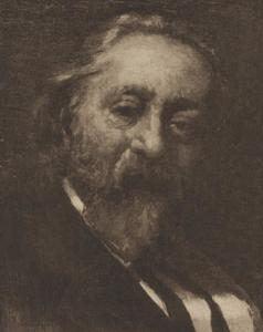 Portret van Jacobus Hendricus Maris (1837-1899)