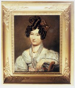 Portret van Maria Elisabeth van Baar van Slangenburg