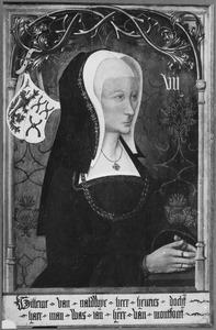 Portret van Willeme van Naaldwijk (overleden 1506)