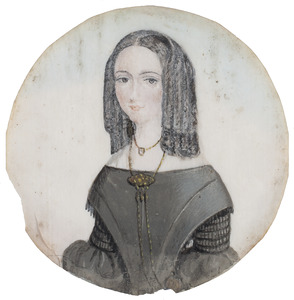 Portret van Hilligje Adriani (1820-1912)