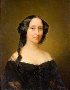 Portret van Jonkvrouw Caroline Marie Groeninx van Zoelen (1802-1860)