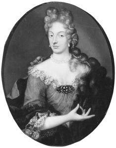 Portret van Anna Maria Dorothea van der Borch ( -1669)