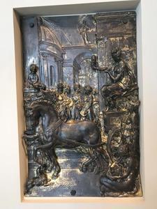 De binnenkomst van stadgodin Augusta in Augsburg