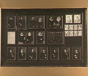 Portretten en kwartierstaten van Gerrit Pietersz. Schaep (1599-1655) van vaderszijde