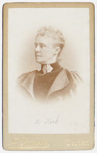Portret van Margaretha Hoek (1846-1923)