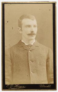Portret van Isaac Philip Francois van de Plassche (1863/1864-1935)