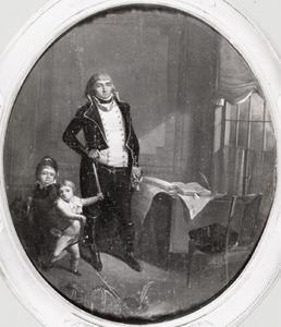 Portret van Petrus Groenia (1769-1844)