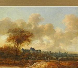 Landschap met Huis ter Nieuburg in Rijswijk