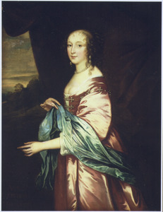 Portret van Anne Douglas, Countess of Morton (?–1654)