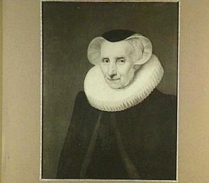 Portret van Vincentia van der Does (1543-1628)