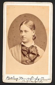 Portret van Maria Adriana Wilhelmina Elisabeth Bijleveld (1861-1938)
