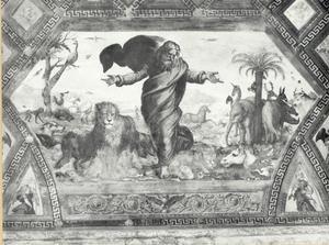 De schepping van de dieren (Genesis 1:24-25)
