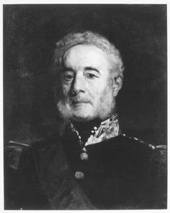 Portret van een hoogste officier (in rang)