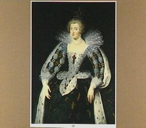 Portret van Anna van Oostenrijk (1601-1666), koningin van Frankrijk
