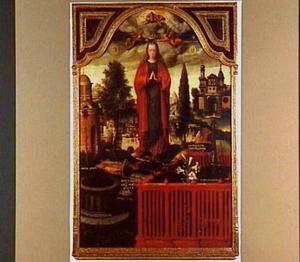 Allegorie op de onbevlekte ontvangenis van Maria: Maria als de Immaculata Conceptio