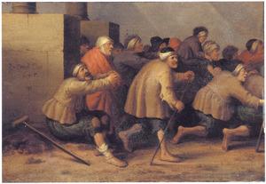 De zieken in het  bad te Betesda (Johannes 5:1-18)