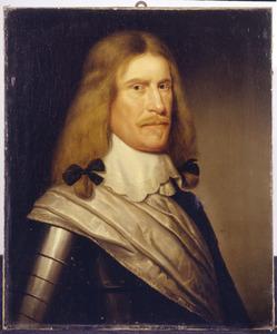 Portret van een man, mogelijk Hans-Christoph von Rauchhaupt (1619-1704)