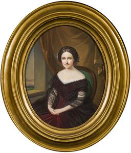 Portret van een vrouw uit de familie Schimmelpenninck van der Oye