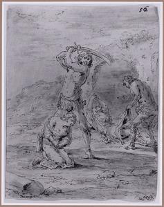 De dochter van Sejanus wordt onteerd en terechtgesteld (Suenos 1641, boek VII, zevende droom)