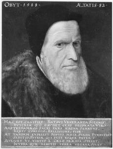Portret van Joost Sijbrandts Buyck (1505-1588), laatste katholieke burgemeester van Amsterdam