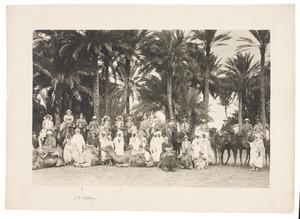 Groepsportret met Jan Eduard Stolberg (1864-1943)