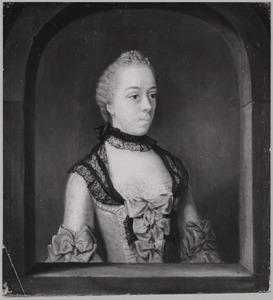 Portret van Wilhelmina Hillegonda Schuyt (1728-1802)