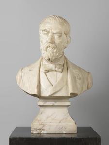 Portret van Willem Hofdijk (1816-1888)